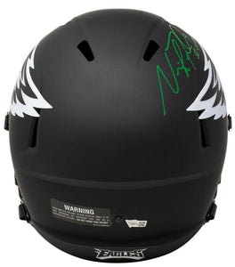 Nick Foles Signed Full Size Eagles Speed Replica Eclipse Helmet SB MVP Fanatics - Sports Integrity