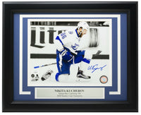 Nikita Kucherov Signed Framed 8x10 Tampa Bay Lightning Hockey Photo JSA JJ45648 - Sports Integrity