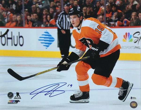 Nolan Patrick Signed 16x20 Philadelphia Flyers Photo BAS - Sports Integrity
