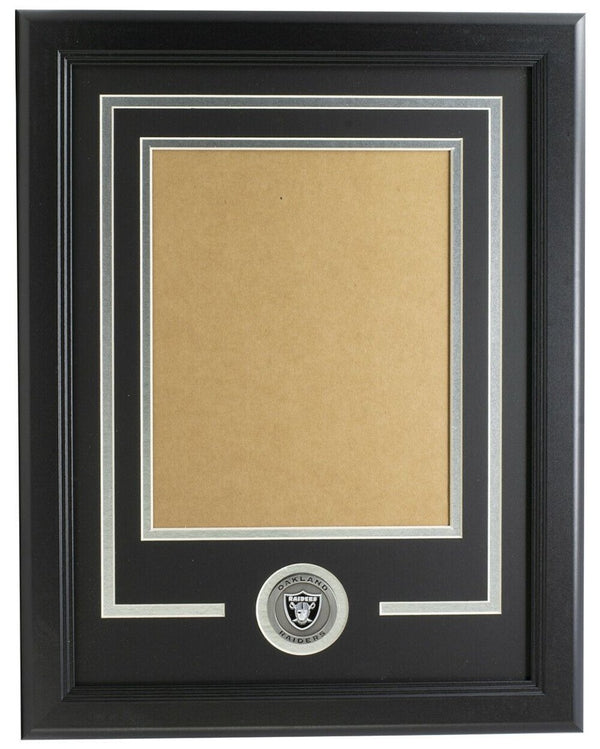 Oakland Raiders 8x10 Vertical Frame Kit - Sports Integrity