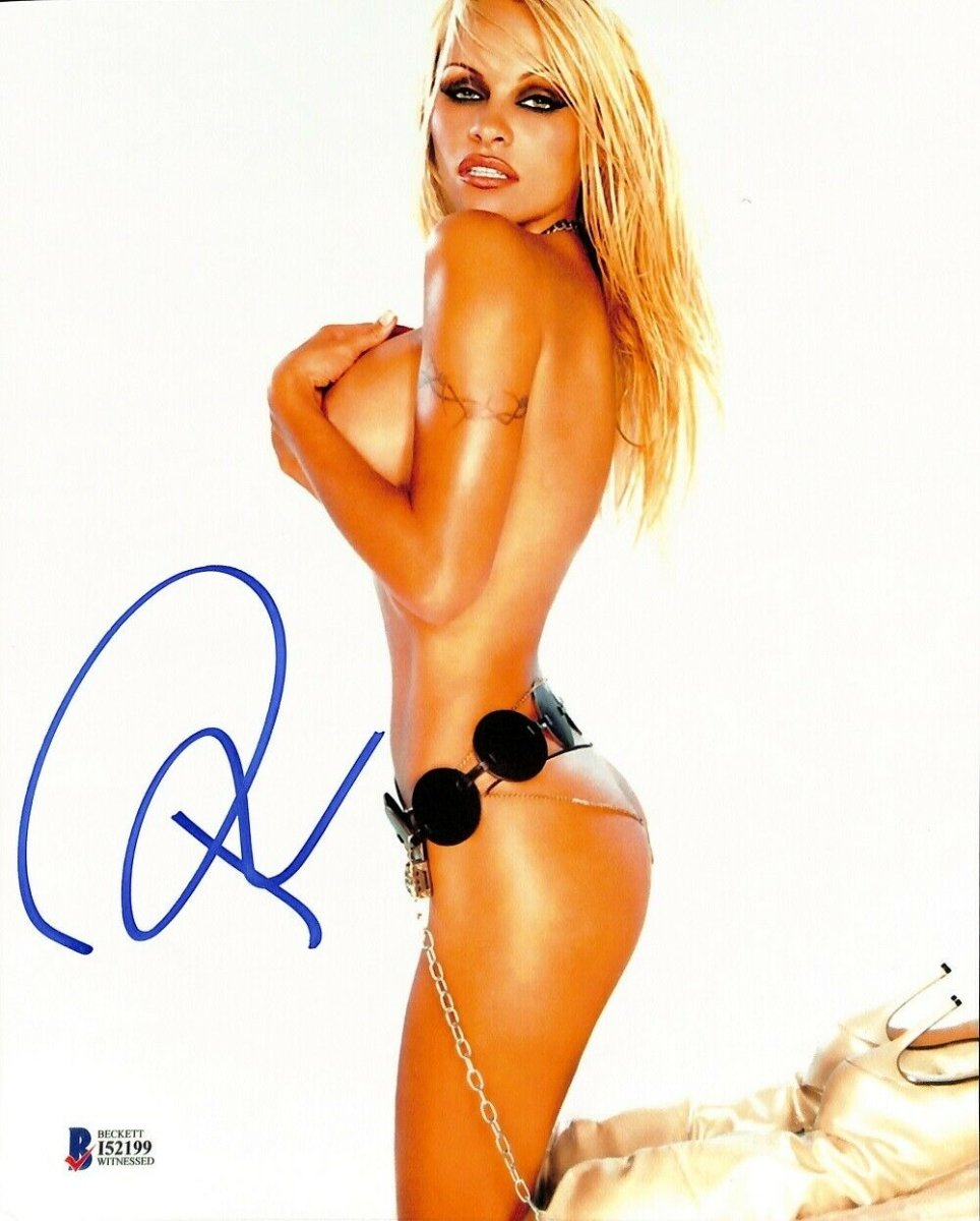 Pamela Anderson Signed 8x10 Photo BAS ITP - Sports Integrity