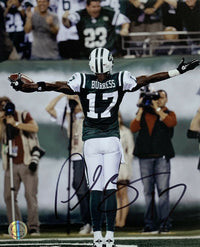 Plaxico Burress New York Jets Signed 8x10 Celebration Photo SI - Sports Integrity