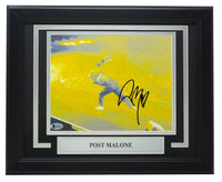 Post Malone Signed Framed 8x10 Photo BAS X42597 - Sports Integrity