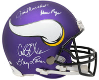 Purple People Eaters Signed Full Size Vikings Speed Authentic Helmet BAS ITP - Sports Integrity
