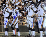 Purple People Eaters Signed Minnesota Vikings 16x20 Football Photo BAS ITP - Sports Integrity