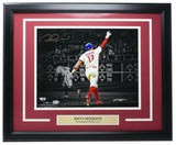 Rhys Hoskins Phillies Signed Framed 11x14 Spotlight Photo Fanatics - Sports Integrity