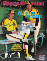 Rich Gossage+Graig Nettles Padres Signed Sports Illustrated Cover BAS - Sports Integrity