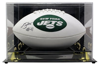 Robby Anderson Signed New York Jets Full Size Logo Football JSA w/Case - Sports Integrity