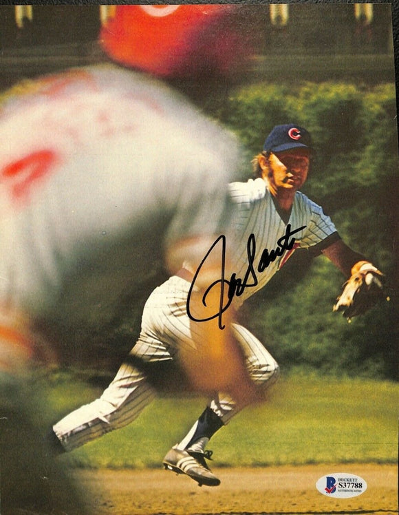 Ron Santo Signed Chicago Cubs Magazine Page BAS - Sports Integrity