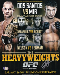 Roy Nelson Signed 8x10 UFC 146 Nelson vs. Herman Promotion Photo SI - Sports Integrity