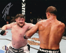Roy Nelson Signed 8x10 UFC MMA Photo vs. Brendan Schaub SI - Sports Integrity
