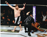 Roy Nelson Signed 8x10 UFC MMA Photo vs. Cheick Kongo SI - Sports Integrity