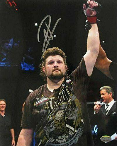 Roy Nelson Signed/Autographed UFC 8x10 One Arm Raised Photo SI - Sports Integrity