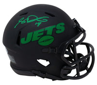 Sam Darnold Signed New York Jets Mini Eclipse Speed Replica Helmet BAS ITP - Sports Integrity