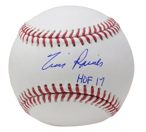 Tim Raines Montreal Expos Signed Official MLB Baseball HOF 17 Inscribed JSA - Sports Integrity