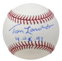 Tom Lasorda Signed Los Angeles Dodgers MLB Baseball HOF 97 JSA EE82750 - Sports Integrity