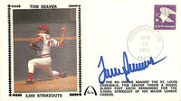 Tom Seaver Signed New York Mets Envelope BAS Y19909 - Sports Integrity