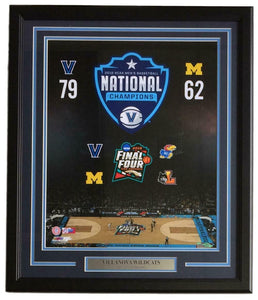 Villanova Wildcats Framed 16x20 2018 National Champions Photo - Sports Integrity
