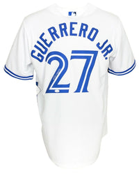 Vlad Guerrero Jr. Signed Blue Jays Majestic White Baseball Jersey JSA - Sports Integrity