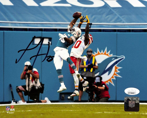 Xavien Howard Signed Miami Dolphins 8x10 Football Photo JSA ITP - Sports Integrity