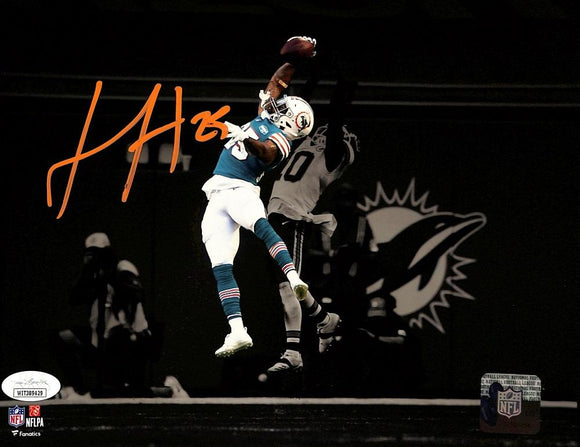 Xavien Howard Signed Miami Dolphins 8x10 Spotlight Photo JSA ITP - Sports Integrity