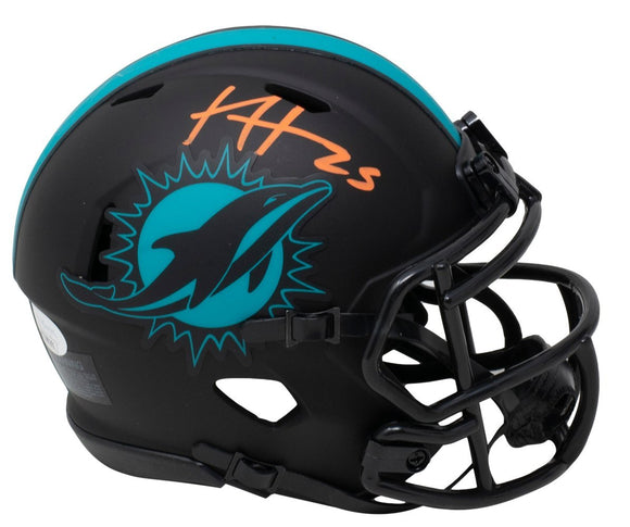 Xavien Howard Signed Miami Dolphins Mini Speed Replica Eclipse Helmet JSA ITP - Sports Integrity