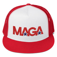 MAGASTAR MAGA LOGO II TRUCKER (RED/WHITE)