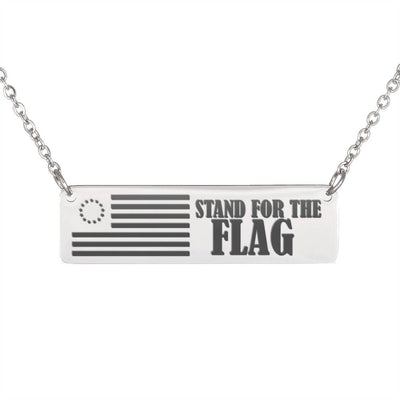 [EXCLUSIVE] Flag Bar Necklace- Just Pay Shipping!