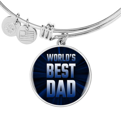 World's Best Dad Bracelet