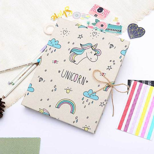 Cute scrapbook for baby