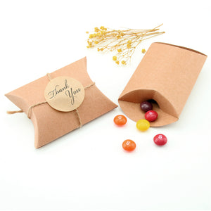 Brown Small Gift Boxes - Pillow