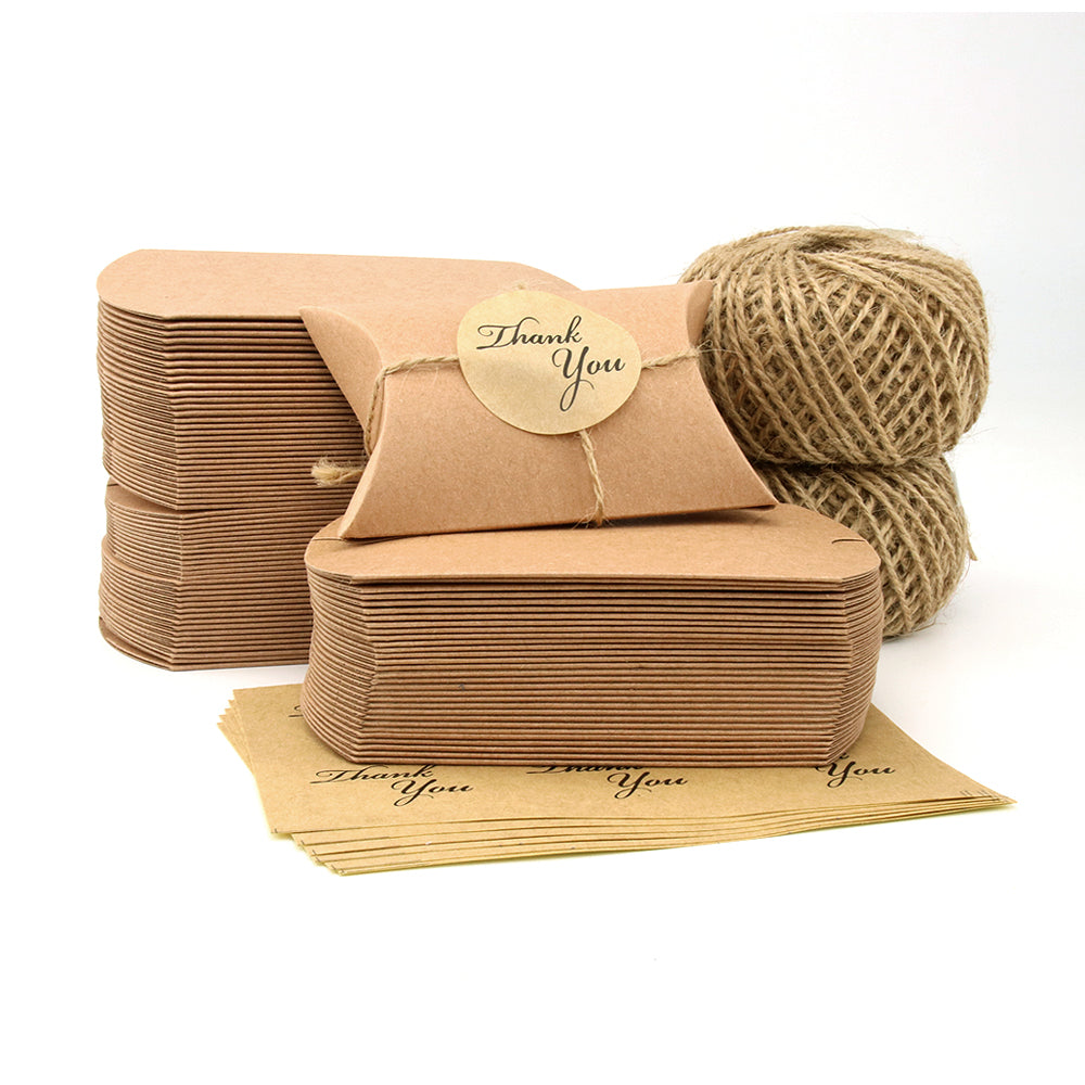 VEESUN Brown Small Gift Boxes - Pillow