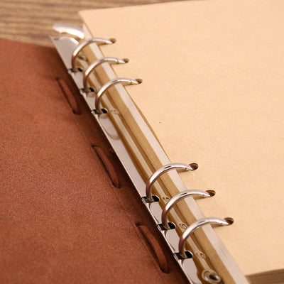 A5 Journal Notebook Refillable Blank Sketchbook - Compass