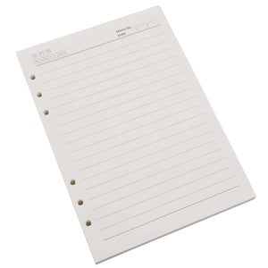 VEESUN 6-hole Lined Refill Pages for A5 Notebooks, 120pcs