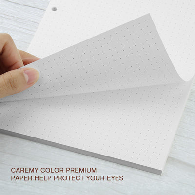 dotted refill paper