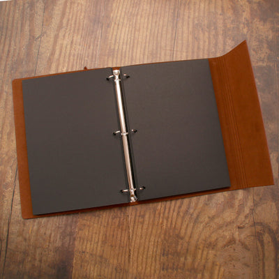 Refillable Scrapbook Photo Album-Footprints
