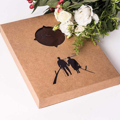 Refillable Scrapbook Photo Album-Couple