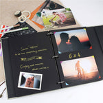Refillable Photo Album Scrapbook - Quill Pen