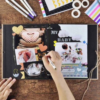 refillable scrapbook