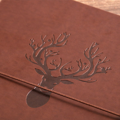 3 ring leather journal