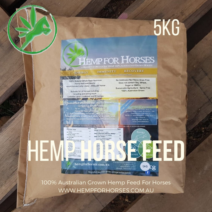 Hemp Horse Feed | 5kg bag