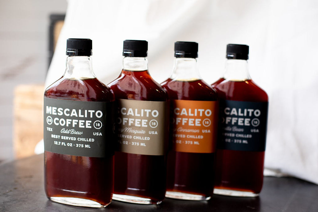 Bottled Cold Brew | Mescalito Coffee - GRAB AND GO
