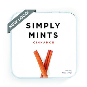 Cinnamon Mints | Simply Gum - GRAB AND GO