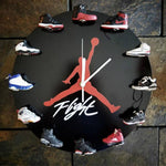 Load image into Gallery viewer, Air Jordan 3D Sneaker Clock with 1-12 Mini Sneakers(World Wide Shipping)