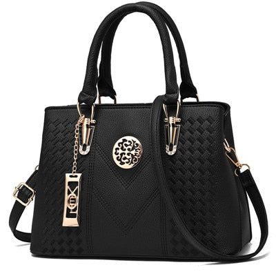2019 Embroidery Messenger Bags Women Leather Handbags  Bags