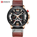 Load image into Gallery viewer, Casual Sport Watches Luxury Military Leather