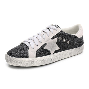 Woman Superstar Casual Shoes Genuine Leather Shoes