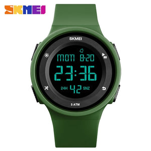 Women's Electronic Digital Waterproof Luxury Wristwatch