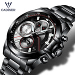 Load image into Gallery viewer, Top Brand Waterproof Mens Fashion Watch Quartz Stainless Steel Wristwatch