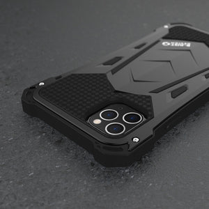 Luxury  Armor Duty Shockproof Metal Aluminum Phone Cases For IPhone 11